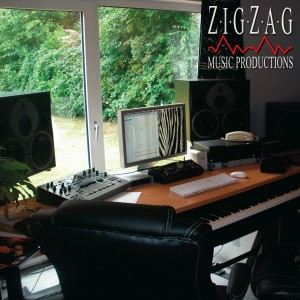 Control Room at Zigzag Music Productions