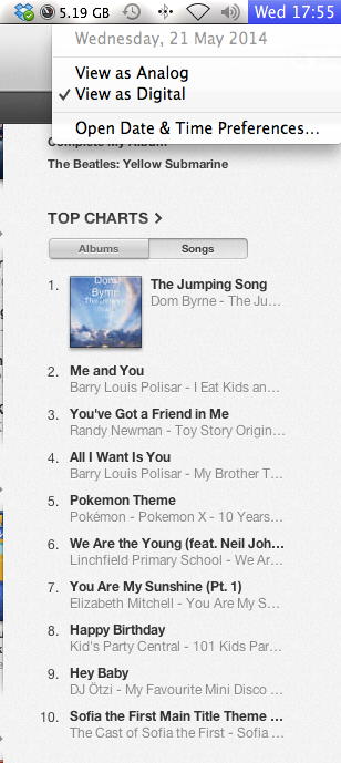 The Jumping Song at No.1